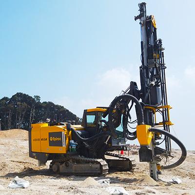 Hydraulic crawler drills